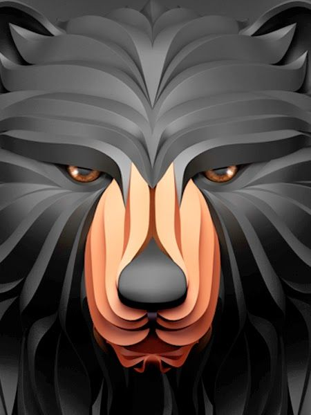 Best Maxim Shkret Images On Pinterest Behance Digital Art - Fascinating 3d renderings of people and animals by maxim shkret