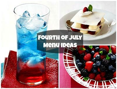 Add more color to your #IndependenceDay decorations and celebrations with this iFood.tv exclusive #4thofJuly menu. Happy eating!
