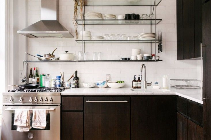 Kitchen of the Week: A Young Couple's Brooklyn Kitchen Reinvented : Remodelista