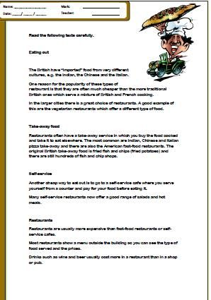 Reading comprehension worksheets year 7 new zealand 1282 free