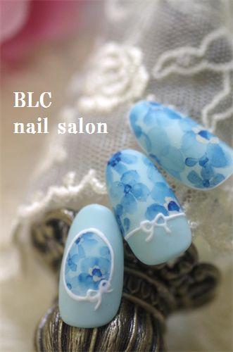 透明水彩の画像   新潟市中央区万代ネイルサロン~BLC nail salon