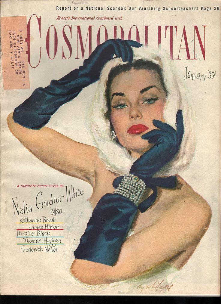 Cosmopolitan magazine, JANUARY 1947 Artist: Coby Whitmore