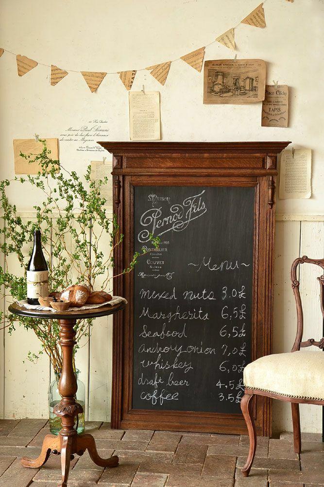 カフェの家具2