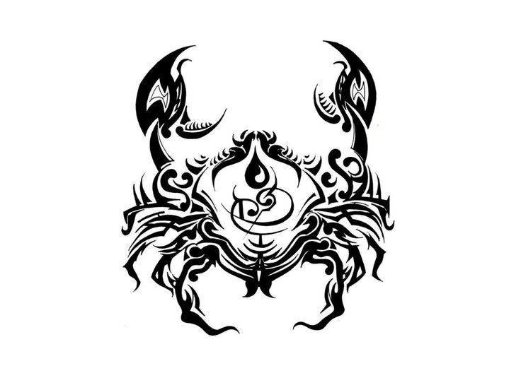 cancer zodiac tattoos for men | cancer zodiac sign tattoos pictures