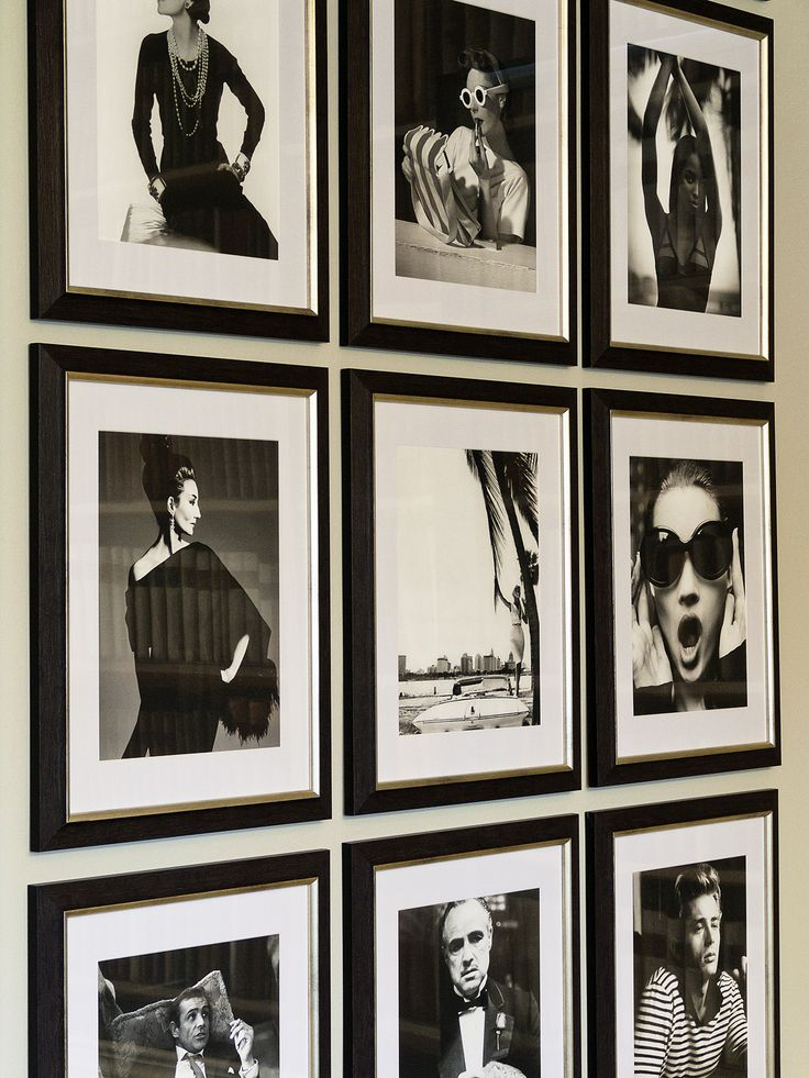 The Celebrity Wall in our Showroom. Luxurious, famous and pretty cool.