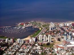 Montevideo desde el aire