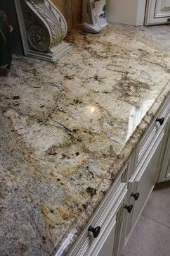 Yellow river granite counter tops - traditional - spaces - new york - La Pietra Marble, Inc.
