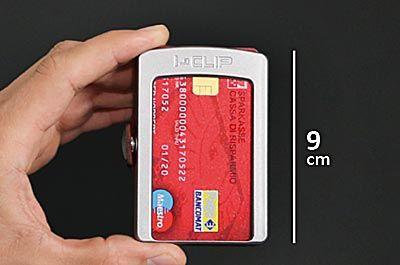 I-CLIP portafoglio piccolo