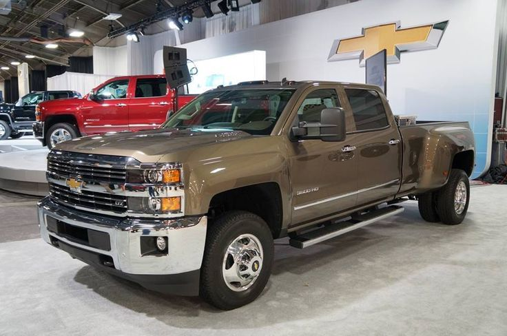 The 2015 Chevrolet Silverado HD, brings new levels of strength, confidence and refinement to the heavy-duty pickup segment. #chevy