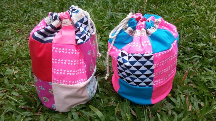Patchwork bags for my friends! 100% hand made work :-)