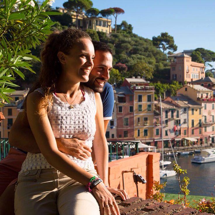 Engagement photography -séance d'engagment à #Portofino - fall in love in Portofino