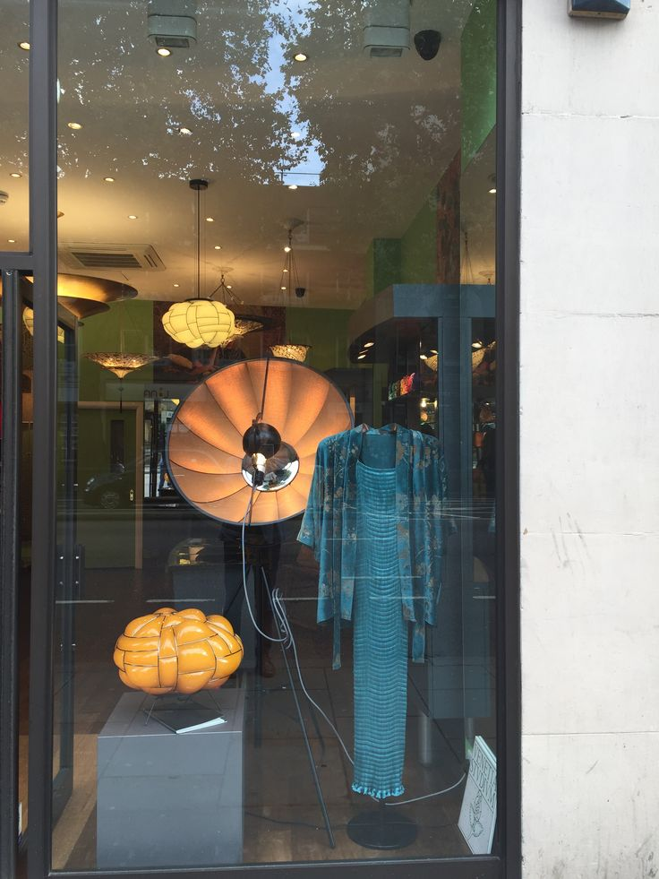 #egg and #fortunylamp at #venetia_studium showromm for #LDF_ 2015 #London _design_festival