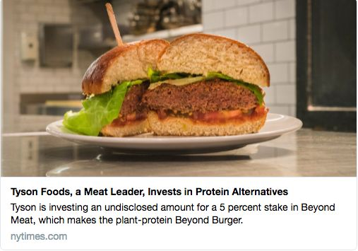Why I am Welcoming Tyson Foods as an Investor to Beyond Meat | Blog | Beyond Meat