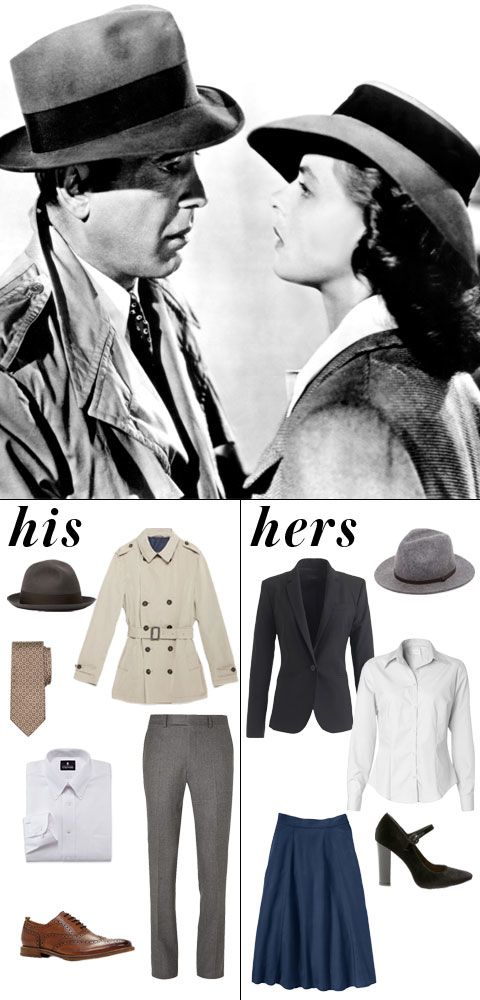9 Iconic Couples to Dress Up as This Halloween - Casablanca - from InStyle.com