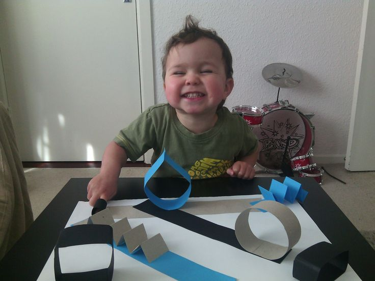 Paper toy for boys! AWESOME! My son is so happy!