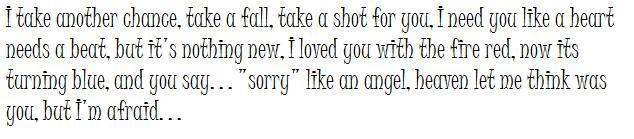 """""""Apologize"""" by One Republic"""