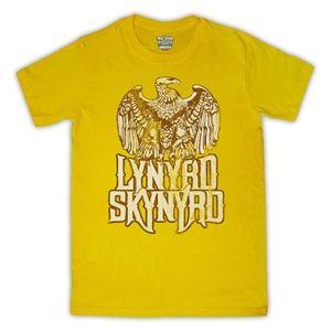 Lynyrd Skynyrd Free Bird Mens T-Shirt (Yellow)