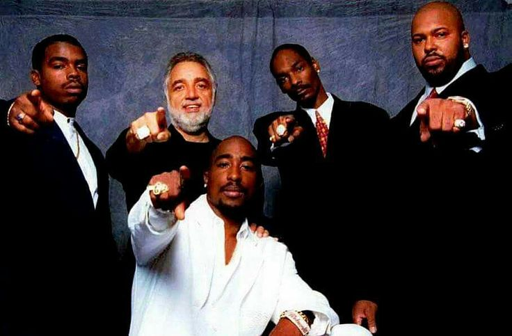 2pac,snoop Dogg,Daz Dillinger,Danny Bakewell & Suge Knight August 15,1996 (by yafshakur7 )