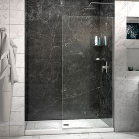 DreamLine 72-in H x 30-in W Clear Shower Glass Panel