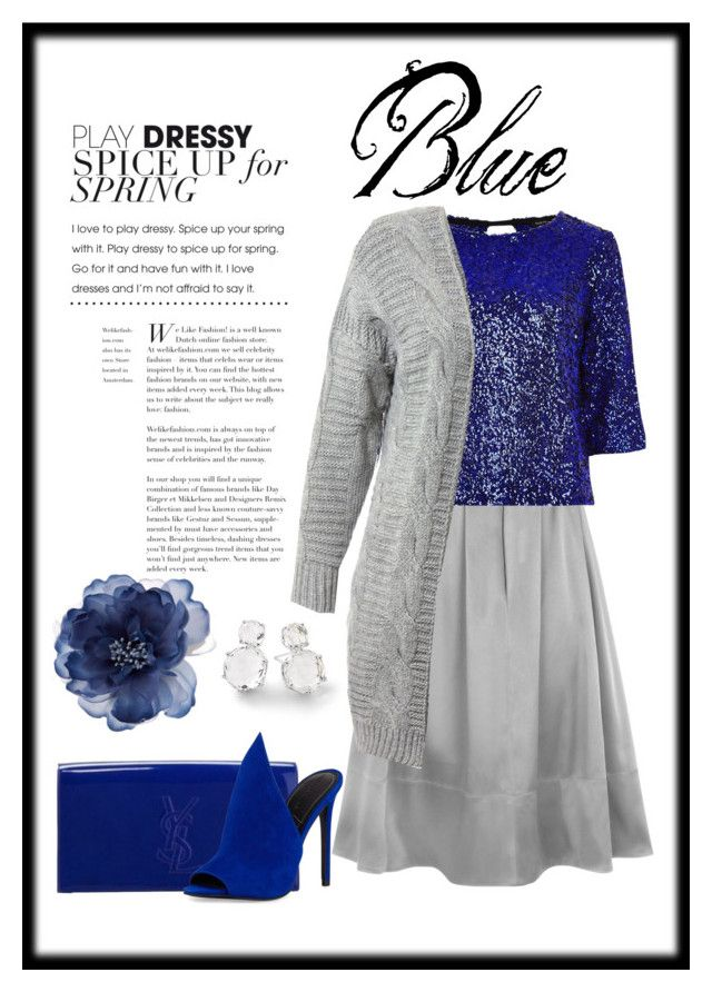 """""""blue"""" by charmina-linda on Polyvore featuring HotSquash, River Island, Yves Saint Laurent, Kendall + Kylie, Ippolita, Sans Souci and Accessorize"""