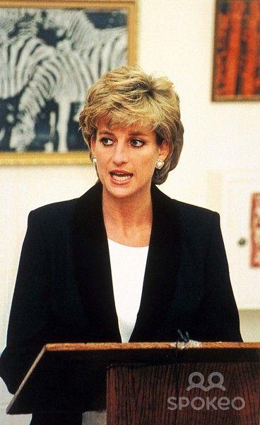 14 Nov -1995 Princess Diana Opens Richard Dadd Centre, Broadmoor Hospital Photo By:alpha-Globe Photos, Inc