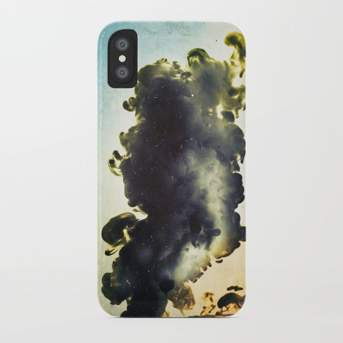 Liquid harmony II iPhone Case by happymelvin