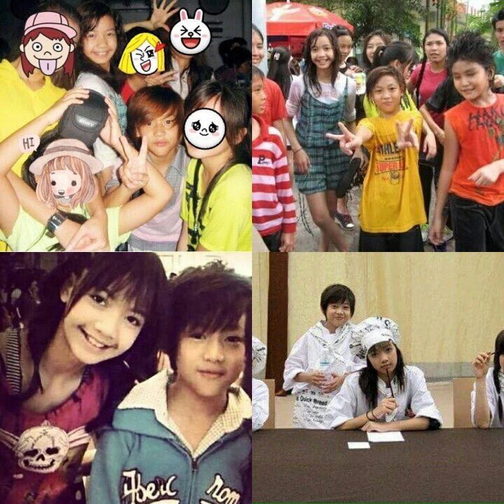 JYP's BamBam and YG's trainee Lisa are childhood friends | K-Pop Amino