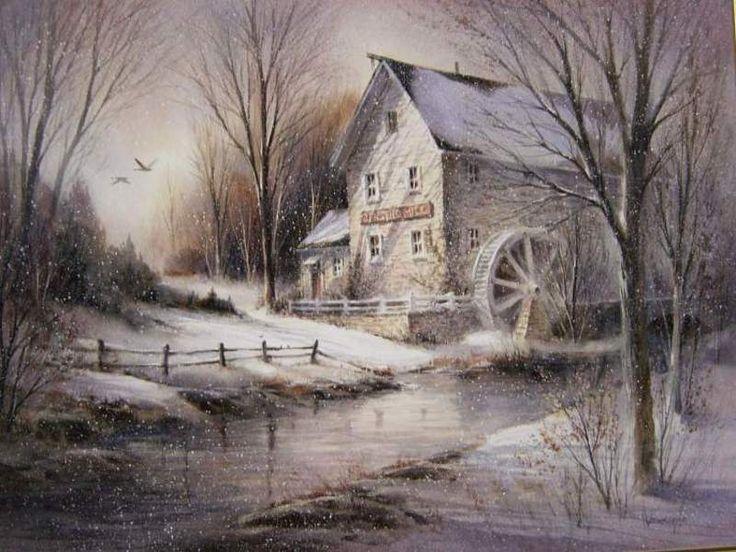 Jensen's Mill by George Bjorkland