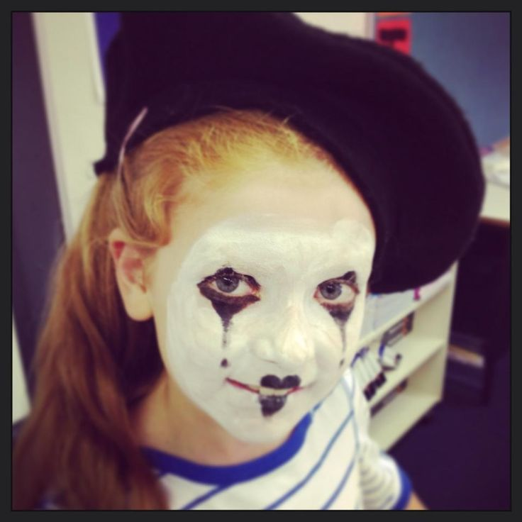 Cute Mime Makeup 1000+ images ab...