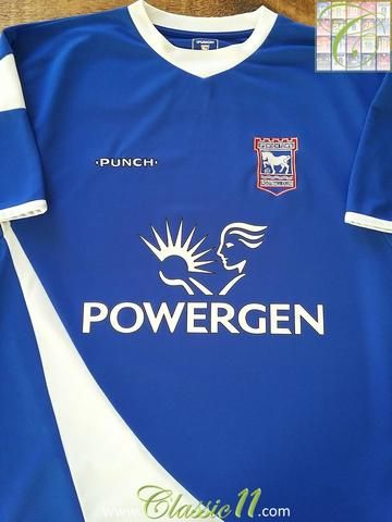 Relive Ipswich Town's 2005/2006 season with this original Punch home football shirt.