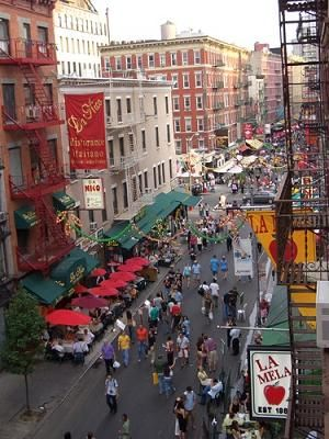 Little Italy - Quartier de New York   Voyage New York
