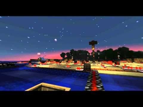 Minecraft Fireworks show!