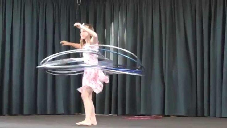 Charlea Bubblegum Hula Hoops