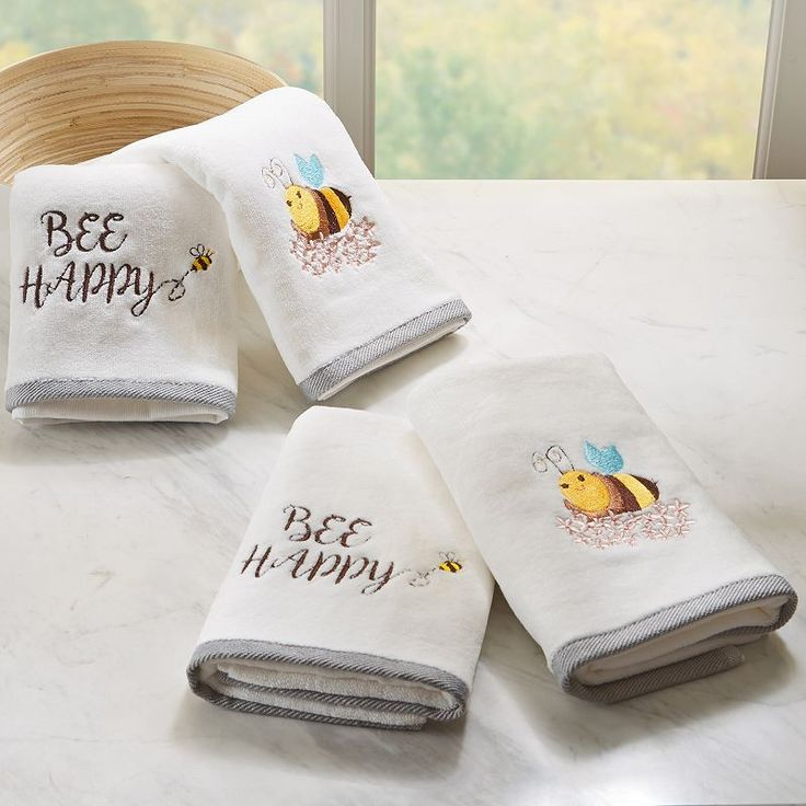 1000+ Ideas About Embroidered Towels On Pinterest