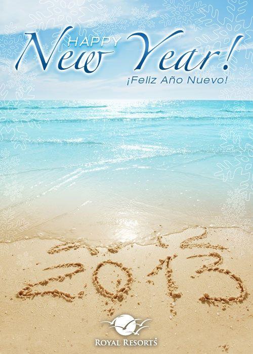 Happy New Year 2013 from your home in paradise! Feliz Año 2013 desde tu casa en el paraíso! :) #royalresorts #NYE #mexico #beach #rivieramaya #playadelcarmen #2013