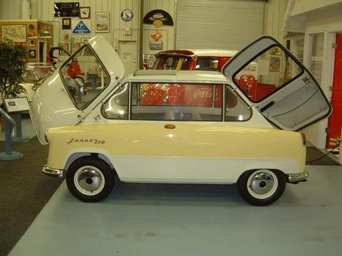 1958 Zundapp Janus - now that's what I call a 2-door.