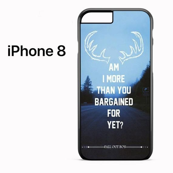 Fall Out Boy Quotes 3 For Iphone 8