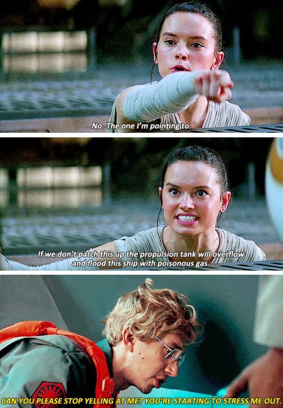 Rey knows how to prick Matt in the right place.