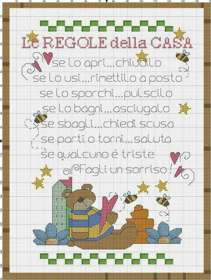 266 best images about punto croce on pinterest stitching for Angioletti punto croce per bambini