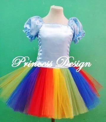Resultado de imagen para disfraz de rainbow dash