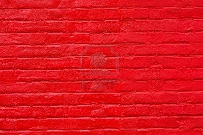 Bright red brick wall red pinterest red brick walls for Bright wallpaper for walls