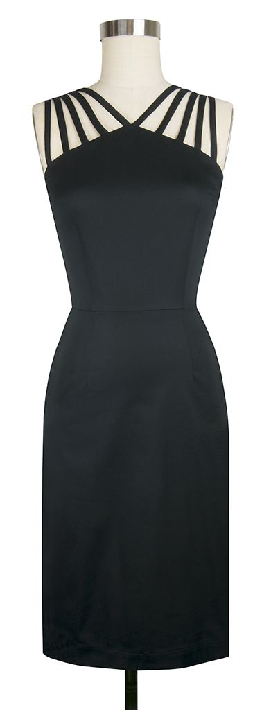 The newest Trashy Diva Tiffany Dress in Black Stretch is the perfect little black dress!!!