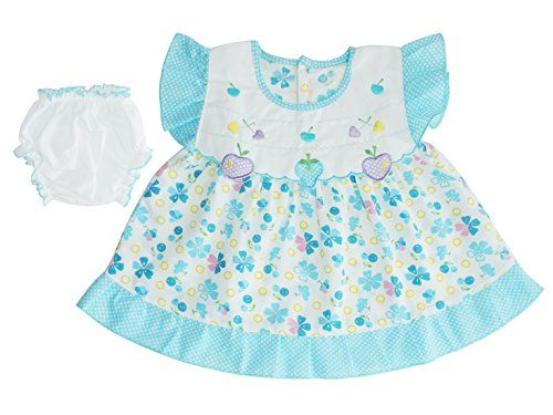 White baby dresses 0-3 months