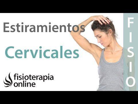 Cervicalgia o dolor de cuello - Tratamiento con ejercicios, automasajes y estiramientos - YouTube