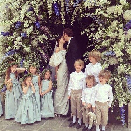 Caroline Sieber's wedding in Vienna