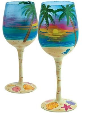 key west wine glasses | ... Wine Glass by Lolita | Lolita® Wine Glasses (West End Glasses
