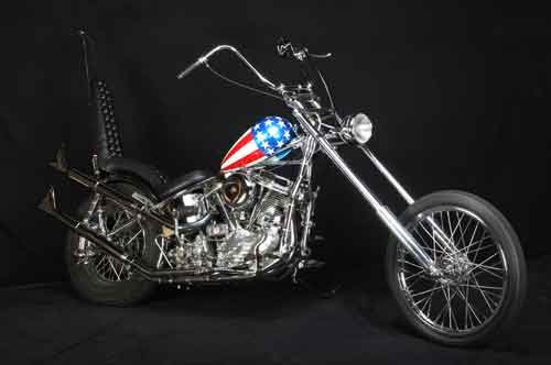 1953 original easy rider captain america motorcycle get. Black Bedroom Furniture Sets. Home Design Ideas