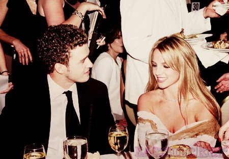 Fairy tales only exist in books / Britney Spears & Justin Timberlake <3