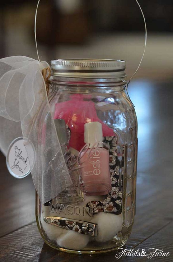 Top 10 DIY Mason Jar Gifts