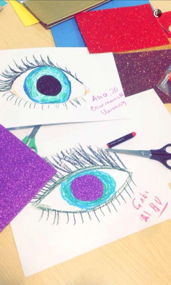 ART #blue #purple #eye #colours #pretty #heart #health #disease